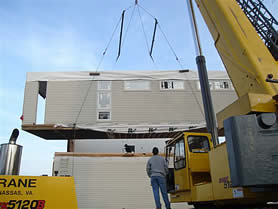 photo of a Greenbelt 2 under construction near the Chesapeake Bay