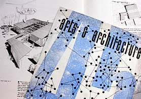 Arts and Architecture magazine from 1945