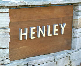 Henley sign